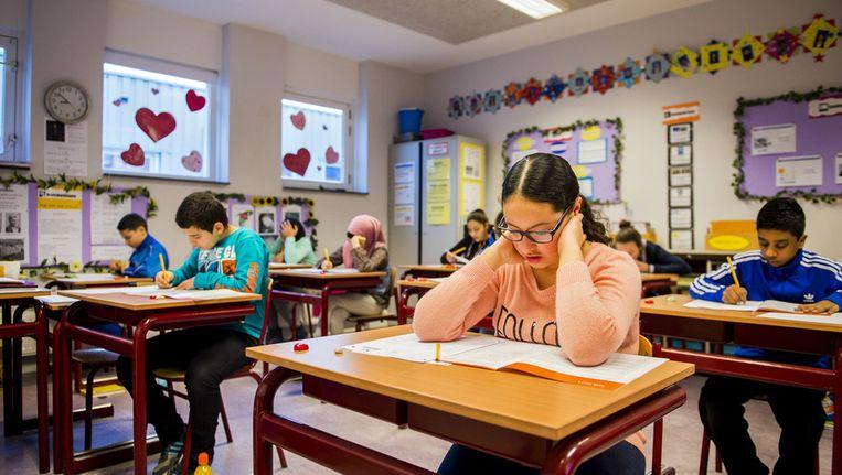 Hoe beter de directeur, hoe beter het onderwijs, zo blijkt uit het rapport. Beeld anp