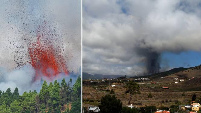Vulkaan op Spaanse eiland La Palma voor het eerst in 50 jaar uitgebarsten