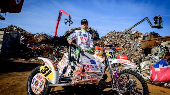 Kersvers Almeloër Julian Veldman kan in Oss de wereldtitel zijspancross veroveren