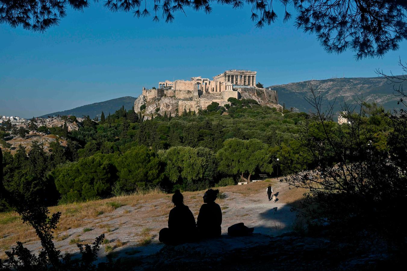 De Akropolis in Athene is vanaf 18 mei opnieuw toegankelijk voor het publiek.