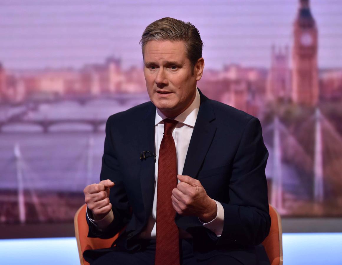 Keir Starmer, de brexit-schaduwminister van Labour, wil een nieuw referendum.