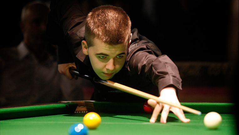 Luca Brecel is regerend Europees kampioen bij de -19-jarigen. Beeld UNKNOWN