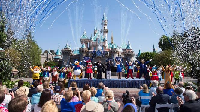 Disney sluit pretparken in Parijs, Californië en Florida