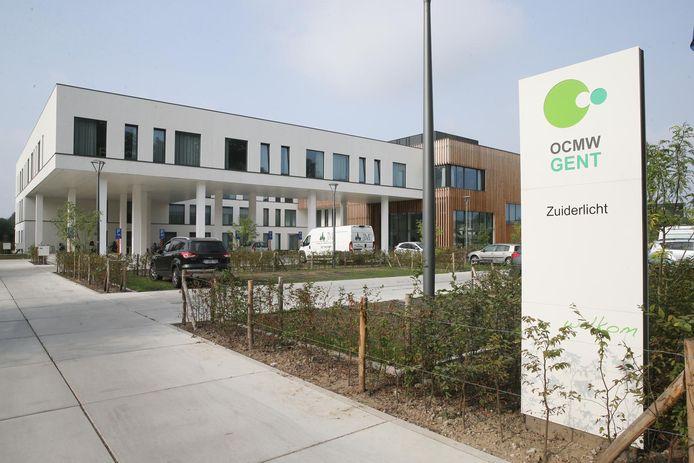 Het woonzorgcentrum Zuiderlicht, aan Zuidbroek in Mariakerke.