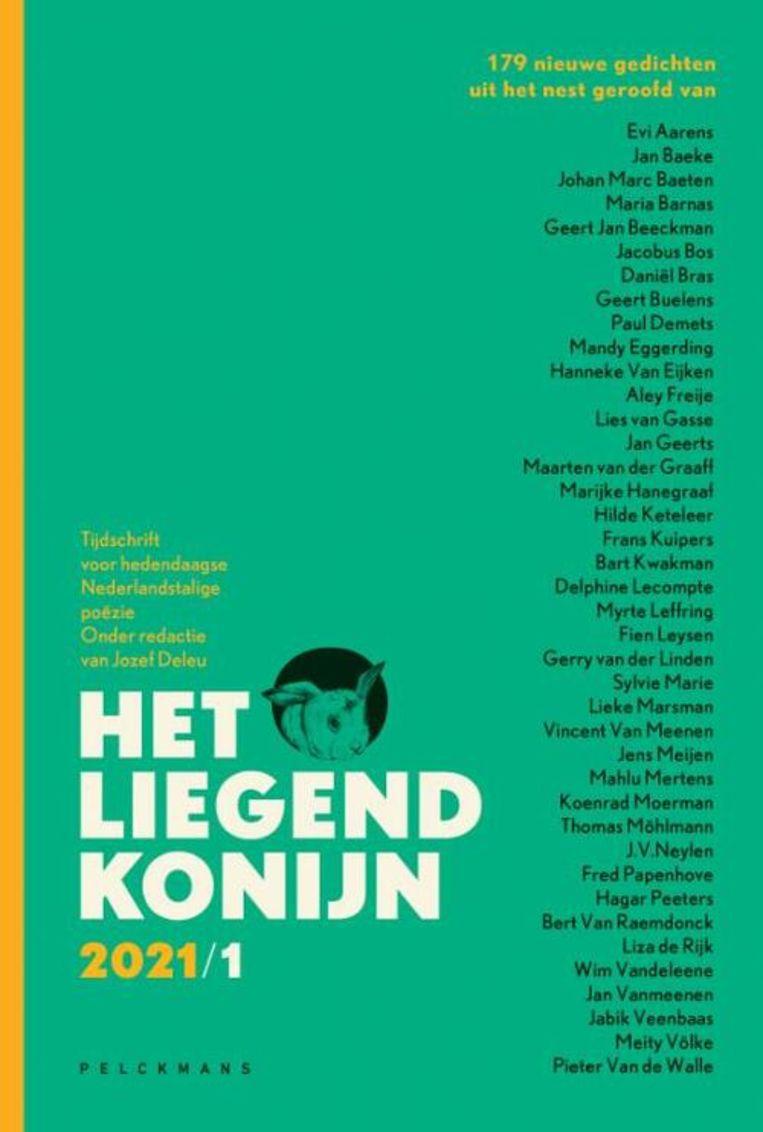 Jozef Deleu (red.), Het Liegend Konijn, 2021/1, april, Pelckmans, 293 p., Beeld rv