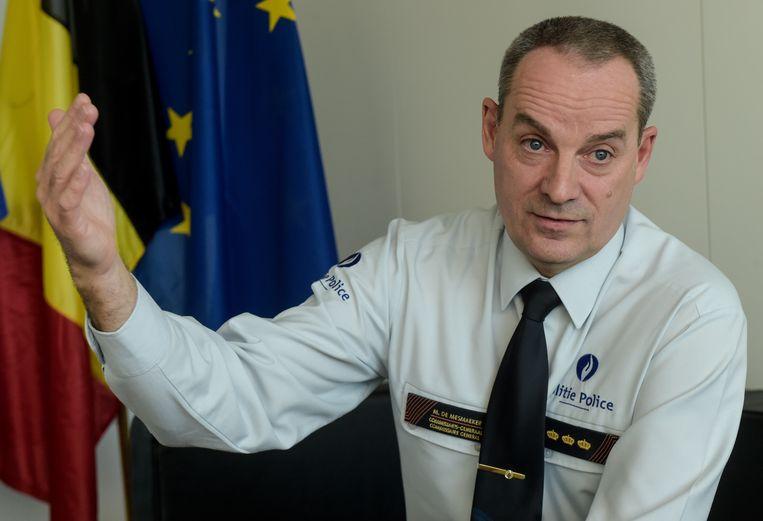 Marc De Mesmaeker, de commissaris-generaal van de federale politie.