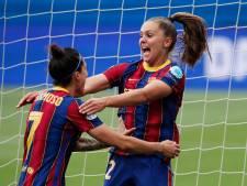 Lieke Martens schiet Barcelona naar finale Champions League