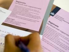 Tienduizenden geregistreerden zeggen na donorwet alsnog nee