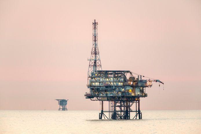 Gaswinning op de Noordzee