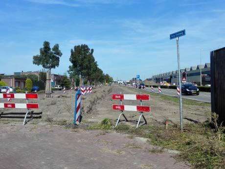 Geluidswal weg, Burgemeester Elsenweg Naaldwijk ineens zichtbaar