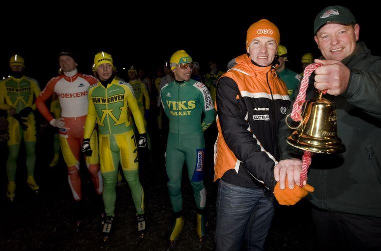 Ruim twee jaar geleden vond de eerste Classic plaats, die werd geopend door Henk Angenent en Ysbrand Chardon (rechts). Beeld