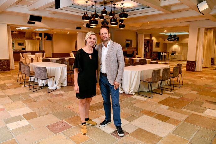 Gregory Van Wonterghem en zijn vrouw Sophie Bossuyt willen er terug aan beginnen.
