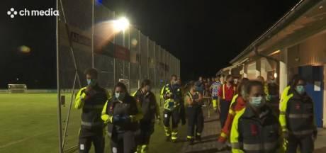 Bliksem slaat in tijdens voetbalwedstrijd Zwitserland: 14 tieners gewond