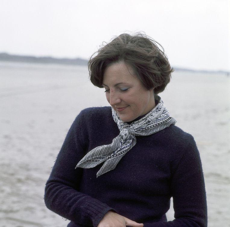 Prinses Margriet op vakantie op Schiermonninkoog (1976) Beeld ANP