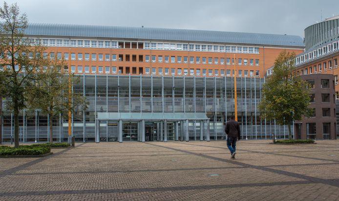 Het Paleis van Justitie in Den Bosch