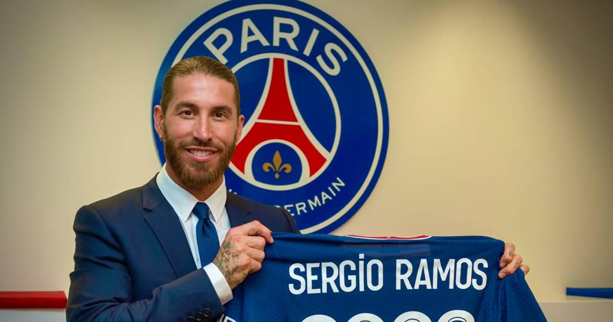 Sergio Ramos Chooses A Mega Salary At Paris Saint Germain After 16 Years Of Real Sport Netherlands News Live