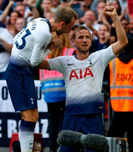 Kane breekt 'vloek van augustus' bij tweede zege Spurs