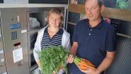 Voortaan verse groentjes uit de automaat bij Johan en Carine in de Grijspeerdstraat