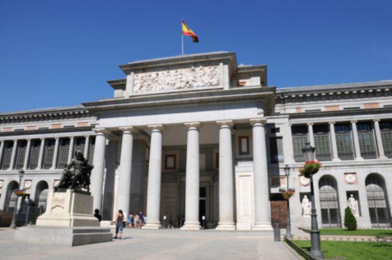 Genieten van kunst in het Prado Beeld UNKNOWN