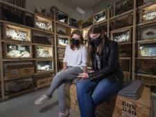 Kristalmuseum is weer open: 'Schrok me dood van het skelet van een holenbeer'