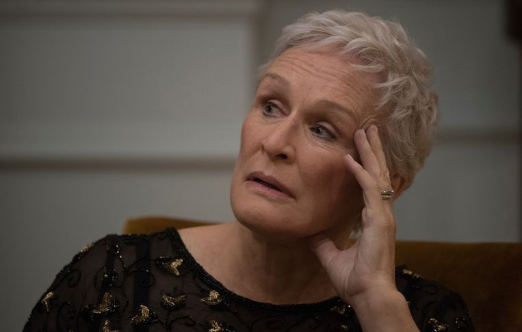 Glenn Close in The Wife. Beeld
