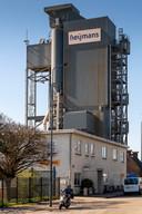 Nederland,  Den Bosch, asfaltcentrale van AsfaltNu aan de Veemarktkade