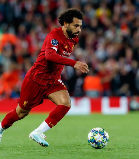 Liverpool met Salah naar België
