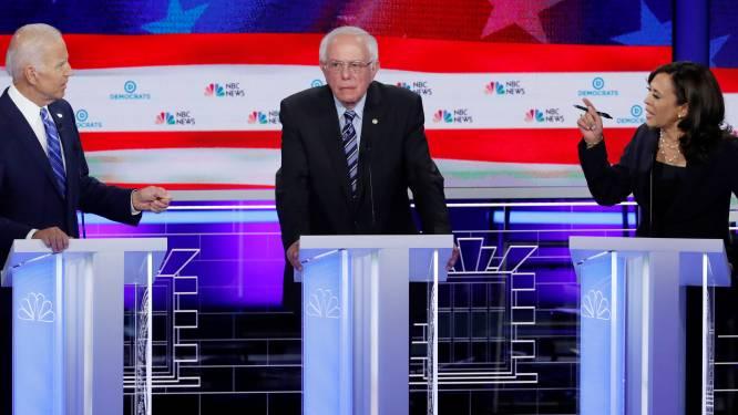 Presidentskandidaat Joe Biden verliest terrein in peilingen na bits tv-debat