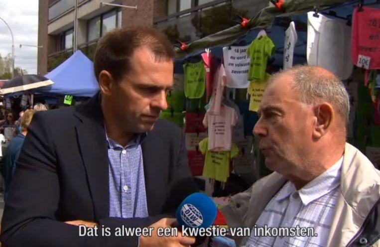 Deze man uit Aarschot reageert op de overstap van Rudi Vranckx naar Al-Qaida.