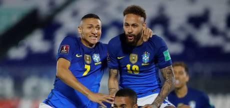 Sixième victoire de rang pour le Brésil de Neymar, l'Argentine accrochée en Colombie