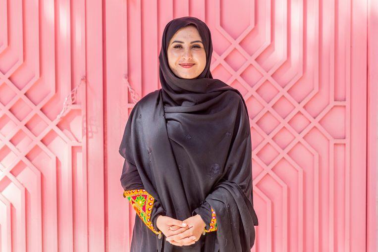 Gulali Mohammadi: 'Ik vond mezelf te jong, te onwetend. Maar al gauw merkte ik dat veel parlementsleden niks zeggen omdat ze geen opleiding hebben gehad.' Beeld Noël van Bemmel