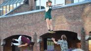 Jonge circusmakers geven aftrap van circus- en straattheaterfestival 'De Donderdagen', dit jaar in aangepaste vorm
