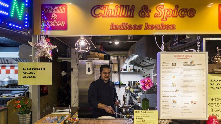 Chilli & Spice staat bovenaan de lijst met beste eettentjes van World of Food. Beeld Rink Hof