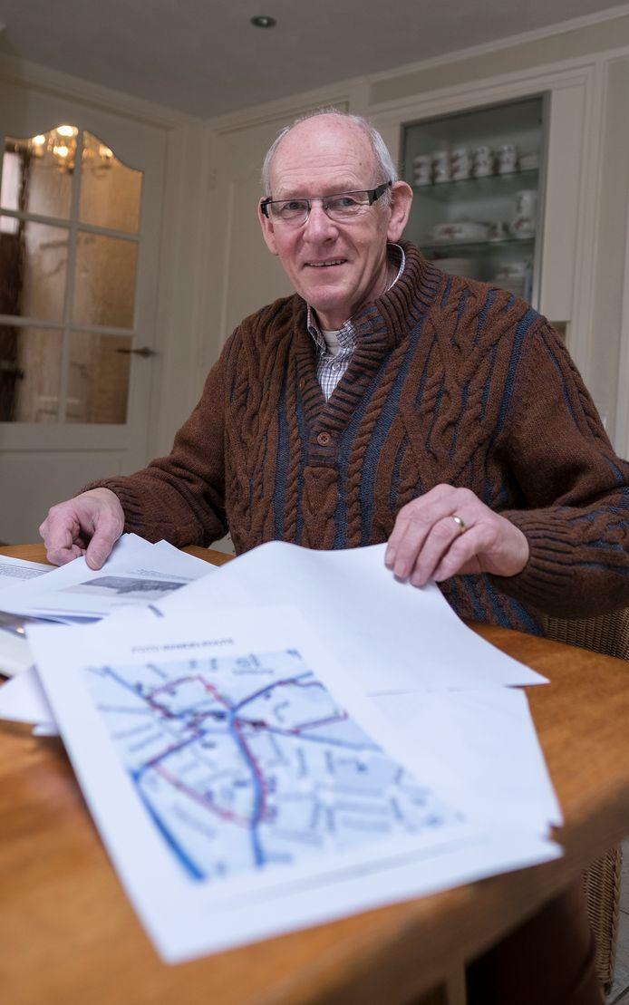 Frans Geurtsen is al geruime tijd een bevlogen voorzitter van Oudheidkundige Vereniging Hengelo.