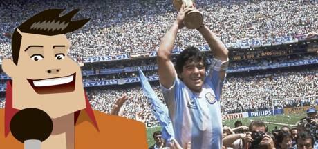 Quiz | Hoe vaak scoorde Maradona op het WK van 1986