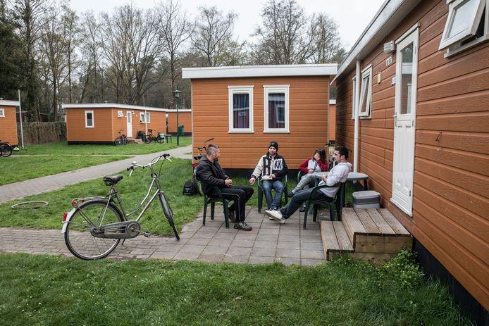 Arbeidsmigranten op Prinsenmeer in Ommel