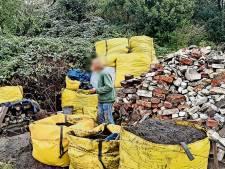 De 'man van de vuilnisbelt' in Twente heeft 'stemmen' in zijn hoofd: 'Hij zoekt een speciale steen'