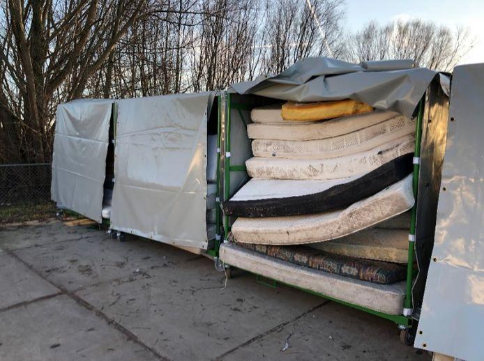 Vanaf dit jaar worden matrassen ingezameld op de Zeeuwse milieustraten