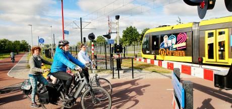 Vanaf december komt op de Uithoflijn elke twee minuten een 75 meter lange tram voorbij