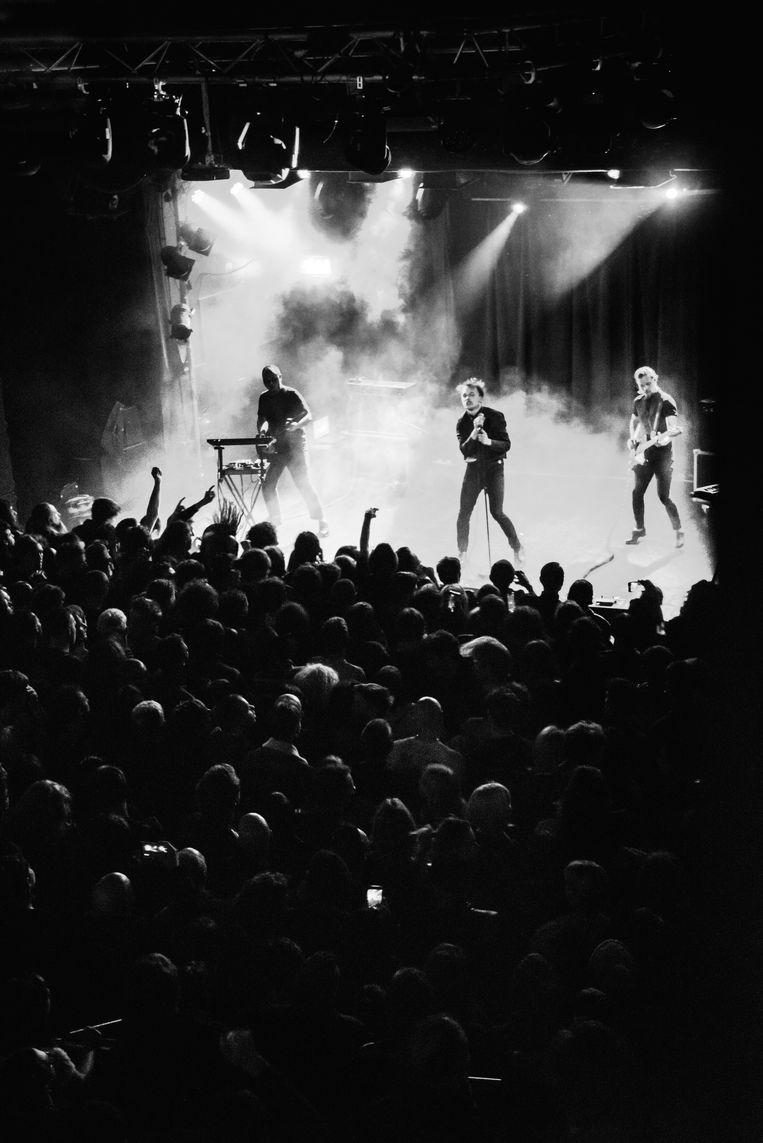 Molchat Doma - Live in Scala Londen, 2019 Beeld Martin Pedaja