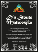 D'n Stoute Matroesjka. 10% Smaakvolle Russian Imperial Stout, 100% mout. Hete variant met habaneropepers.