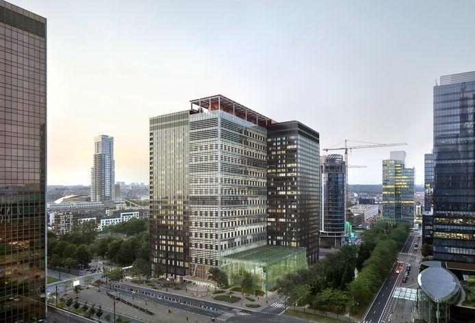 In 2025 strijkt hotelketen The Standard met 180 kamers neer in de Brusselse Manhattanwijk.