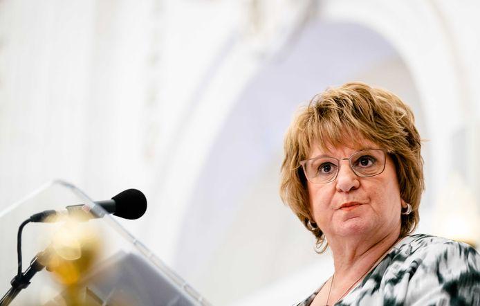 Informateur Mariëtte Hamer gaf gisteren een toelichting op haar eindverslag rond de formatie.