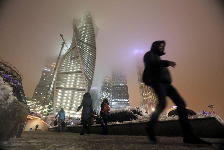 Het zakencentrum van Moskou. Beeld epa