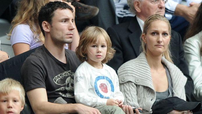 Mark van Bommel en zijn vrouw Andra.