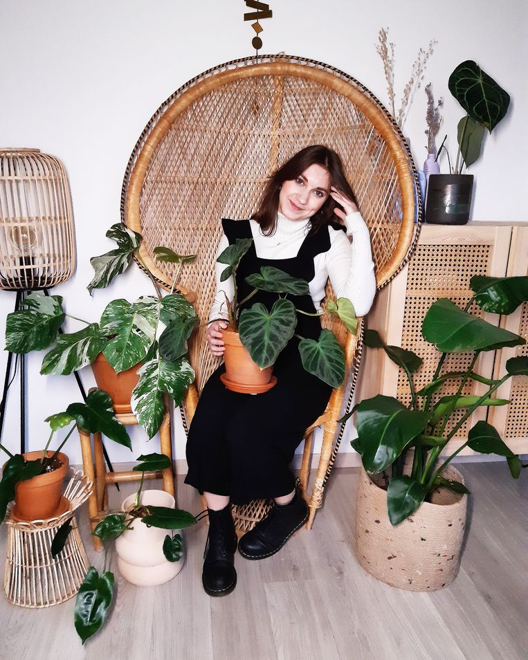 Dorina Verdyck. Beeld instagram.com/plantenstek