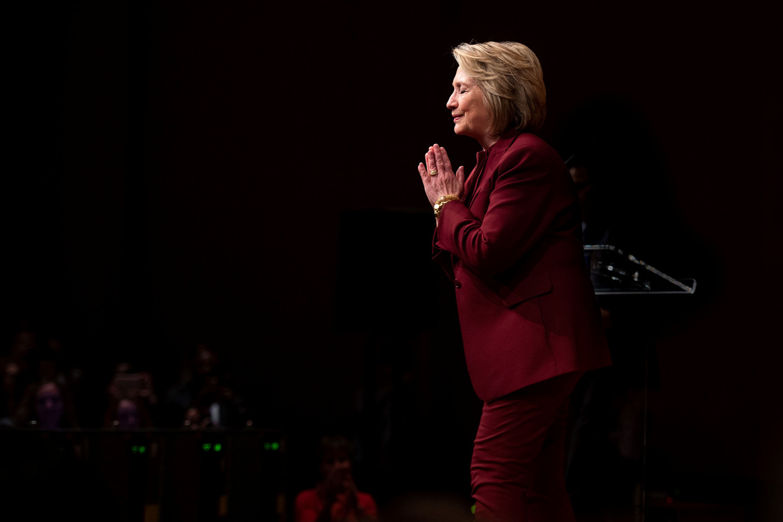 Hillary Clinton is een van de 538 kiesmannen.