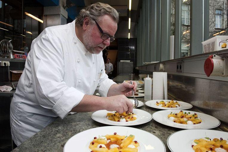 Geert Van Hecke van restaurant Karmeliet in Brugge. Beeld PHOTO_NEWS