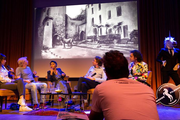 Filmcafé van Nieuwe Filmers in de Verkadefabriek