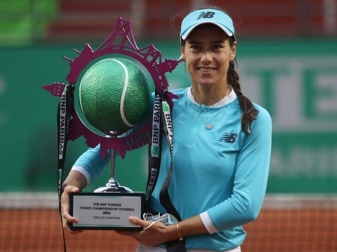 Sorana Cirstea won de finale van Elise Mertens